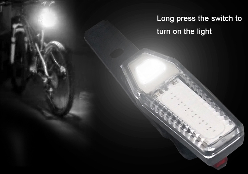 XANES TL22 COB LED 7Modes Cycling Safety Warning Lamp Waterproof USB Rechargeable Bike Tail Light