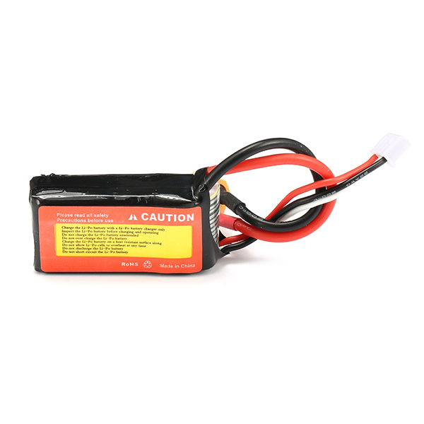 ZOP Power 7.4V 500mAh 45C 2S Lipo Battery XT60 Plug