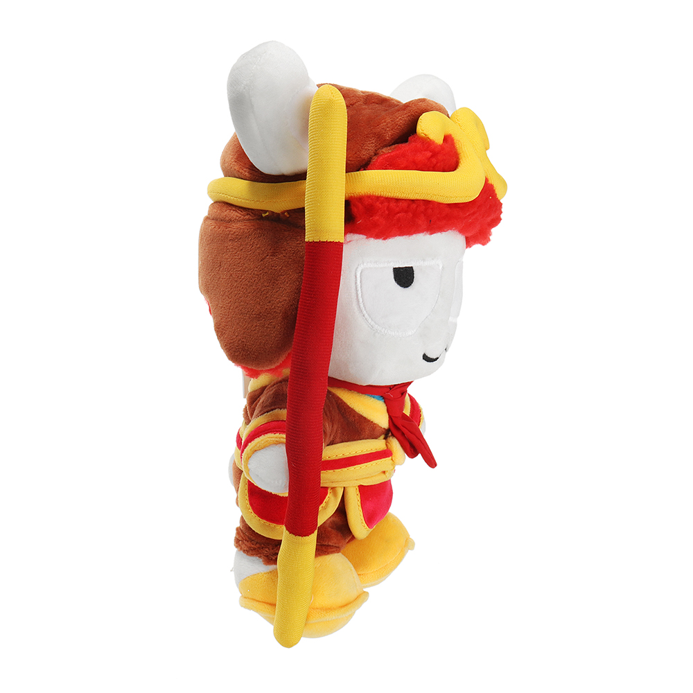 XIAOMI Red Stuffed Plush Toy Classic MITU The Monkey King 25cm Cute Soft Doll Kids Best Gift