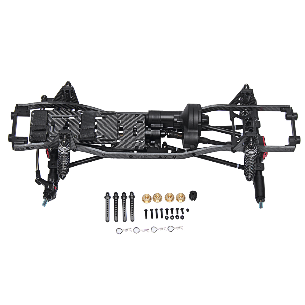 TFL T11 Crawler Frame Metal Chassis Set without Electronic Components for SCX10Ⅱ 90046 90047 Rc Car - Photo: 5