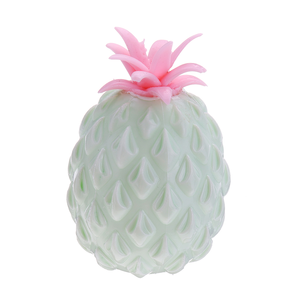 Squishy MultiColor Pineapple Stress Reliever Ball 11*7.5CM Squeeze Stressball Party Bag Fun Gift