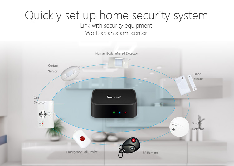 SONOFF® PIR2 Wireless Infrared Detector Dual Infrared Motion Sensor For Smart Home Security Alarm System