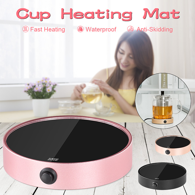 Portable Electric Desktop Coffee Warmer Tea Heater Cup Mug Pad Warming Tray Cup Warmer Pad