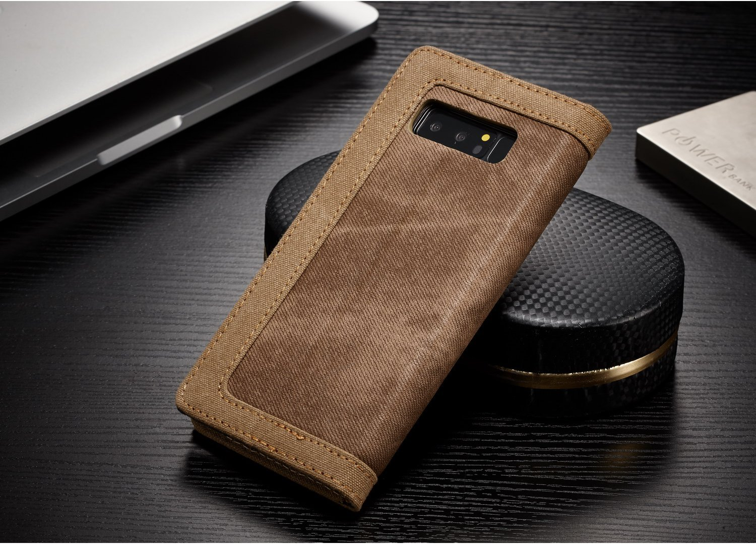 Caseme Magnetic Flip Bracket Wallet Case For Samsung Galaxy Note 8