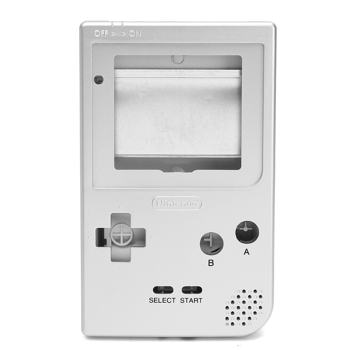 Silver Full Housing Shell Case Cover Part for Gameboy Pocket GBP Full Parts Replacement Accessories