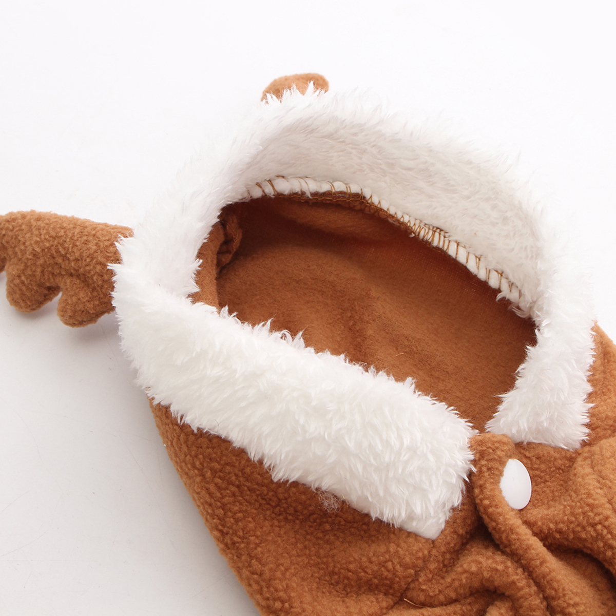 Pet Dog Puppy Christmas Lovely Deer Sweater Hoodie Jumpsuit Coat Clothes Outwear Coats