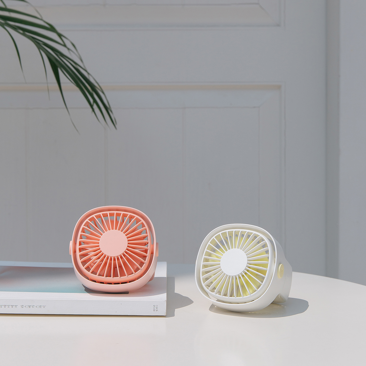 XIAOMI 3life Mini FanRotating Desktop Fan Low Noise High Wind Natural Wind USB Charge