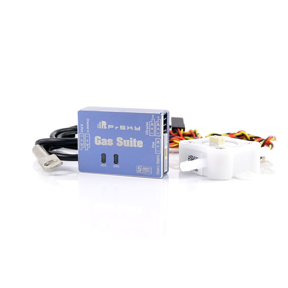 FrSky Gas Suite Sensor Smart Port Enabled and Support Telemetry Data Transmission for RC Airplane