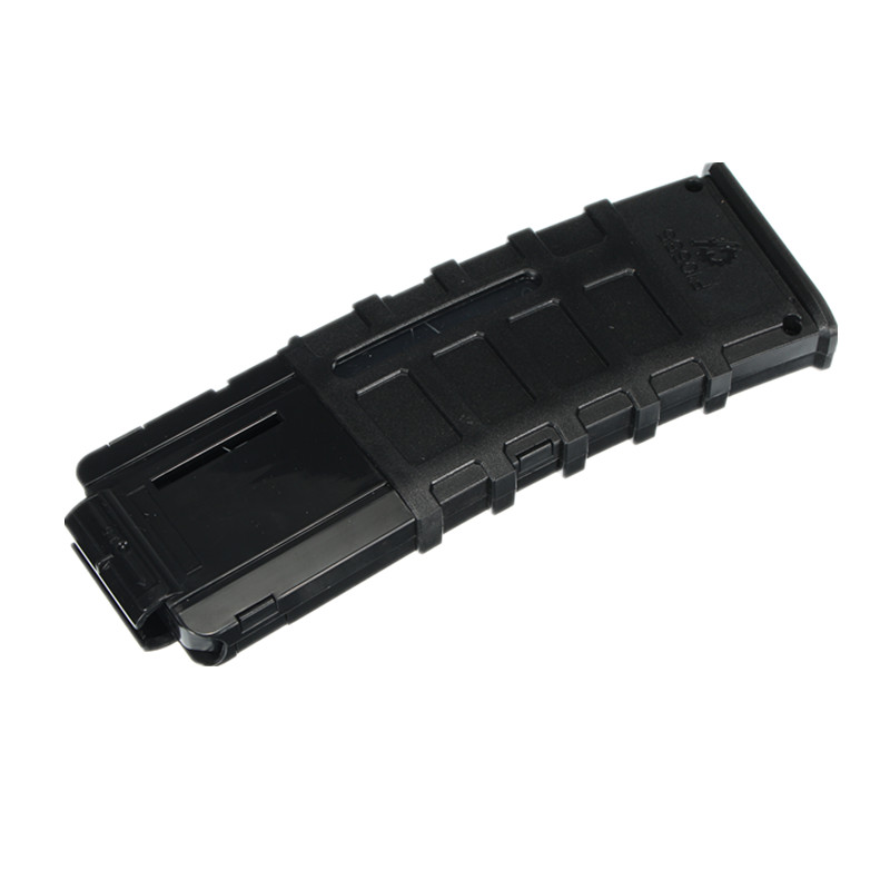 WORKER Mod 22Darts Plastic Clip Magazine For Nerf Modify Stryfe Elite Retaliator Blaster Toy Black