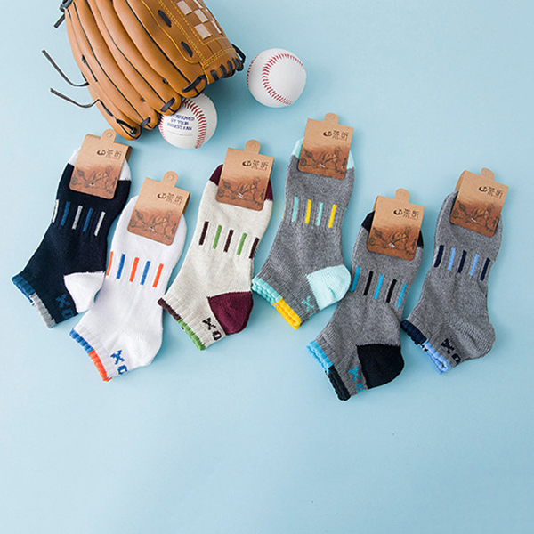 Men Summer Breathable Cotton Invisible Boat Socks