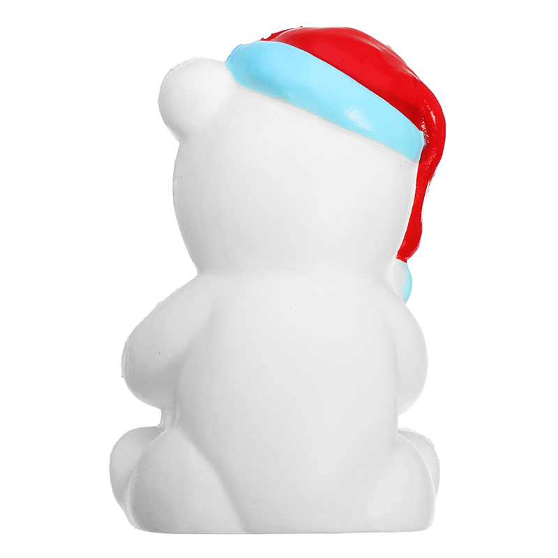 Squishy Christmas Bear 11cm Gift Sweet Soft Slow Rising Collection Decor Toy
