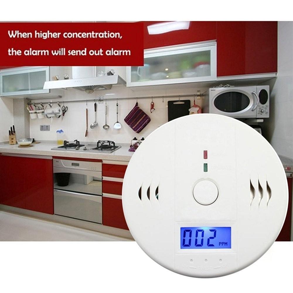 ELE Home Safety CO Carbon Monoxide Tester Poisoning Smoke Gas Sensor Alarm Warning Detector