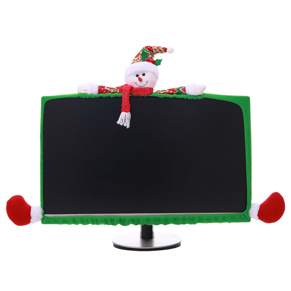 3 Style Christmas Computer Laptop LCD Screen Monitor Decor Cover Suit 19-27