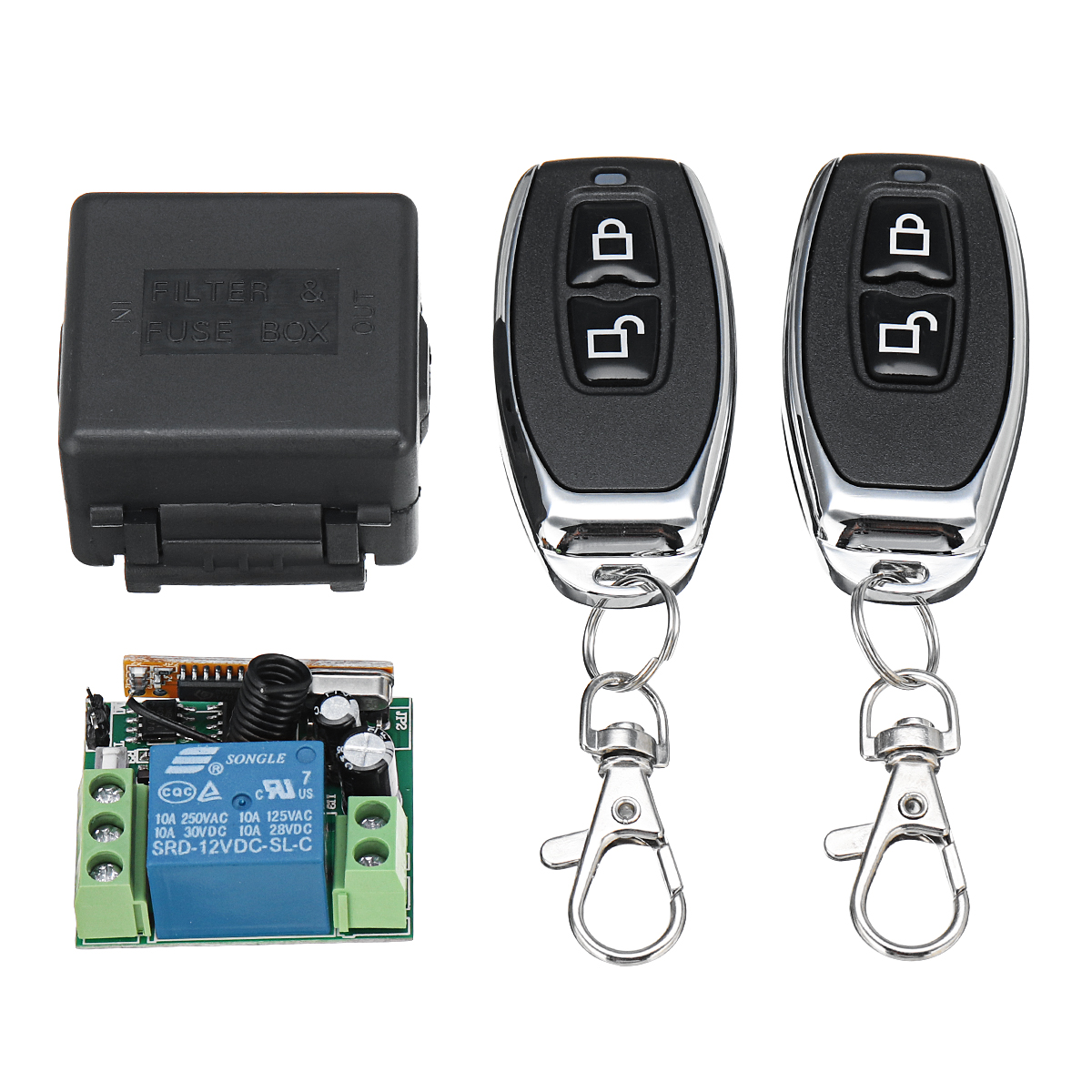 Relay For Sale Ioffer 1pcs 12v Dc Delay Turn On Off Switch Module External Trigger Time Adj 1319 Last Purchased 1 Day 433mhz Dc12v 1ch Wireless Remote Control R