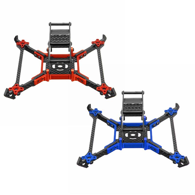 Realacc Real1M 140mm 3 Inch Fibra de carbono CNC RC Drone Kit de ...