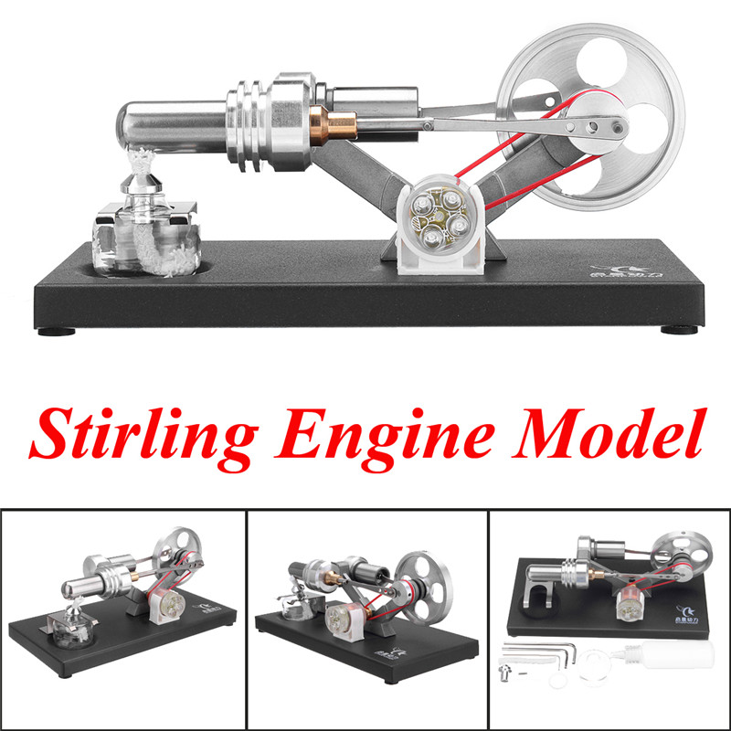 STARPOWER Electricity Generator Mini Hot Air Stirling Engine Motor Model Educational Gift Collection