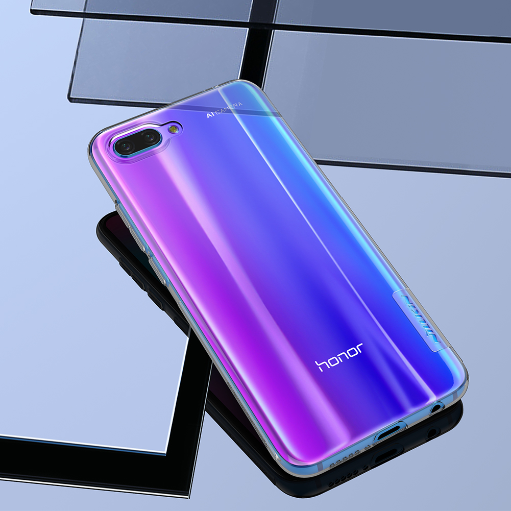 NILLKIN Clear Nature Transparent Soft TPU Protective Case For Huawei Honor 10