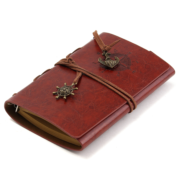 Journals Handmade Brown Vintage Travel Bound Leather Cover Notebooks