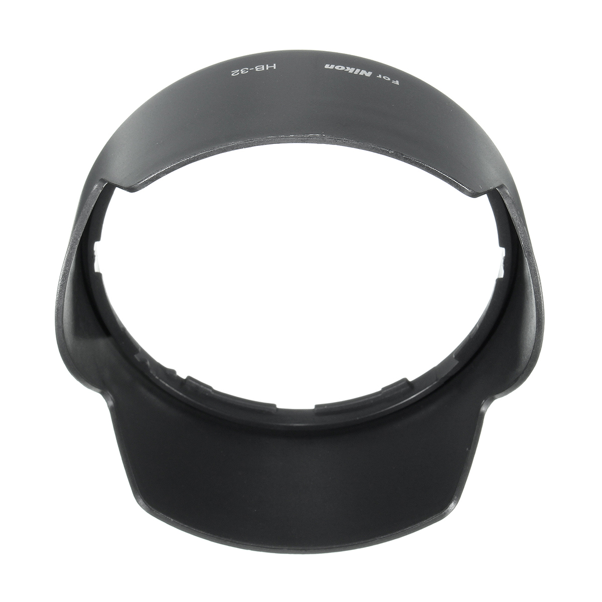 Plastic Blackout HB-32 Dedicated Lens Hood For Nikon 18-105 18-140 18-135mm 18-70mm Lens