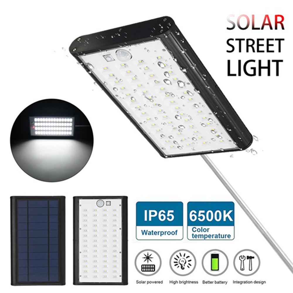 5W Solar PIR Motion Sensor Street Wall Light IP65 Waterproof USB Charging Garden Light