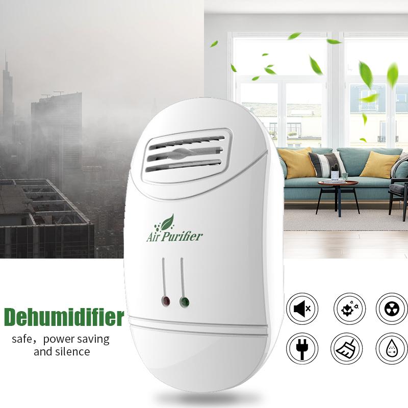 Air Purifier Cleaner Negativ ioniseringsgenerator Fjern