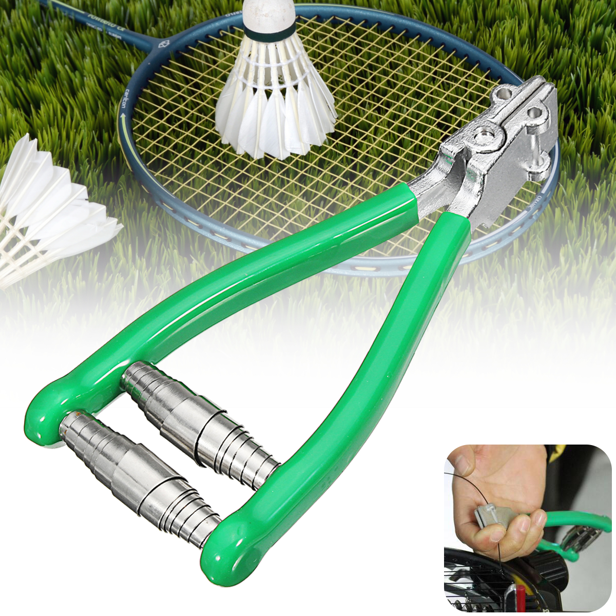Tennis Starting Clamp Knot Stringing Tool Badminton Racket Racquet