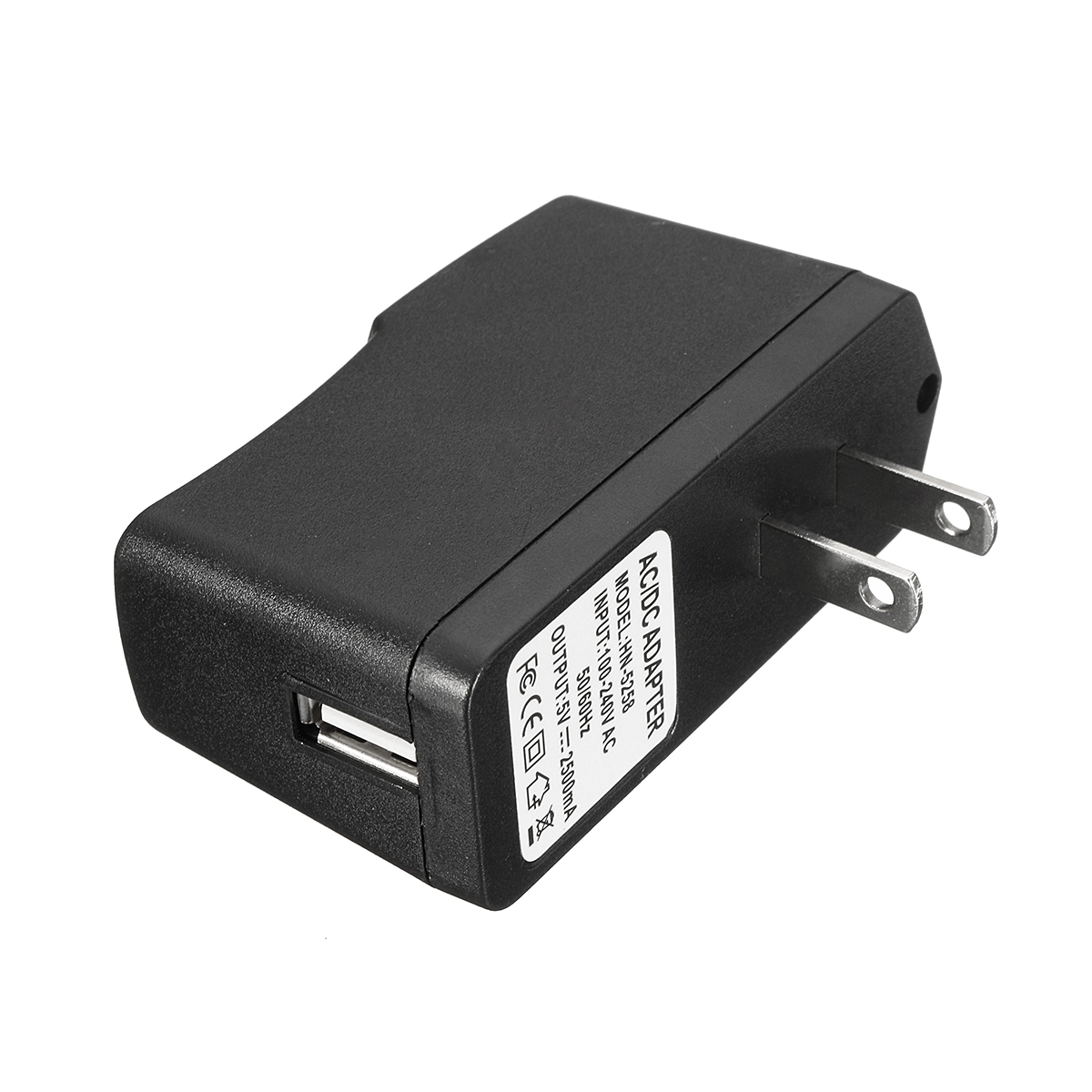 5V 2.5A Raspberry pi AC 100-240V DC US Plug USB Power Supply Adapter Charger