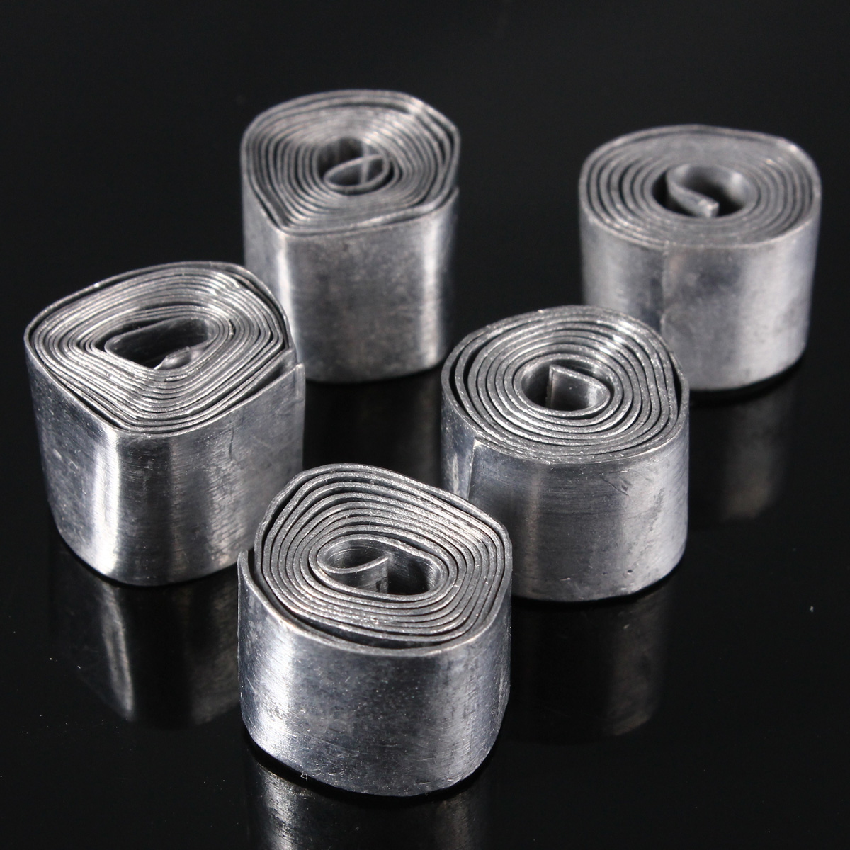 0.4-1MM Soft Lead Sheet Roll Fishing Angeln Sinkers Clip Tackle Fishing Supplies Fishing Accessories