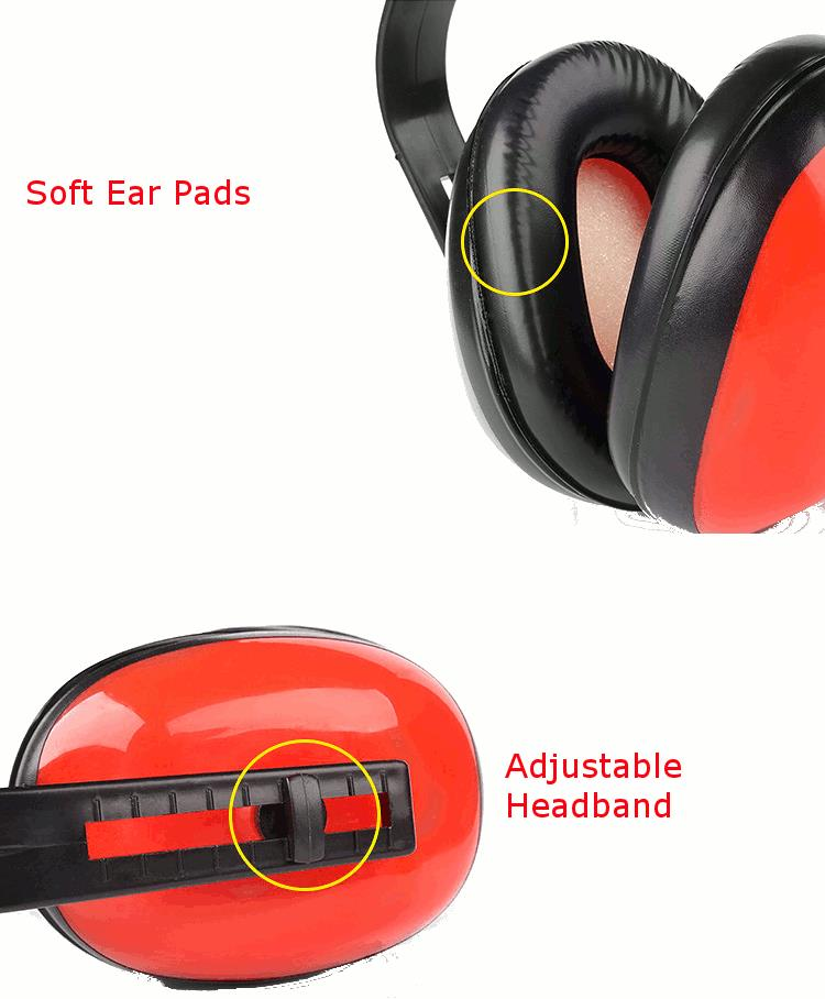 Tactical Outdoor Hunting Learning Working Anti-noise Ear Muffs Shooting Hearing Protector
