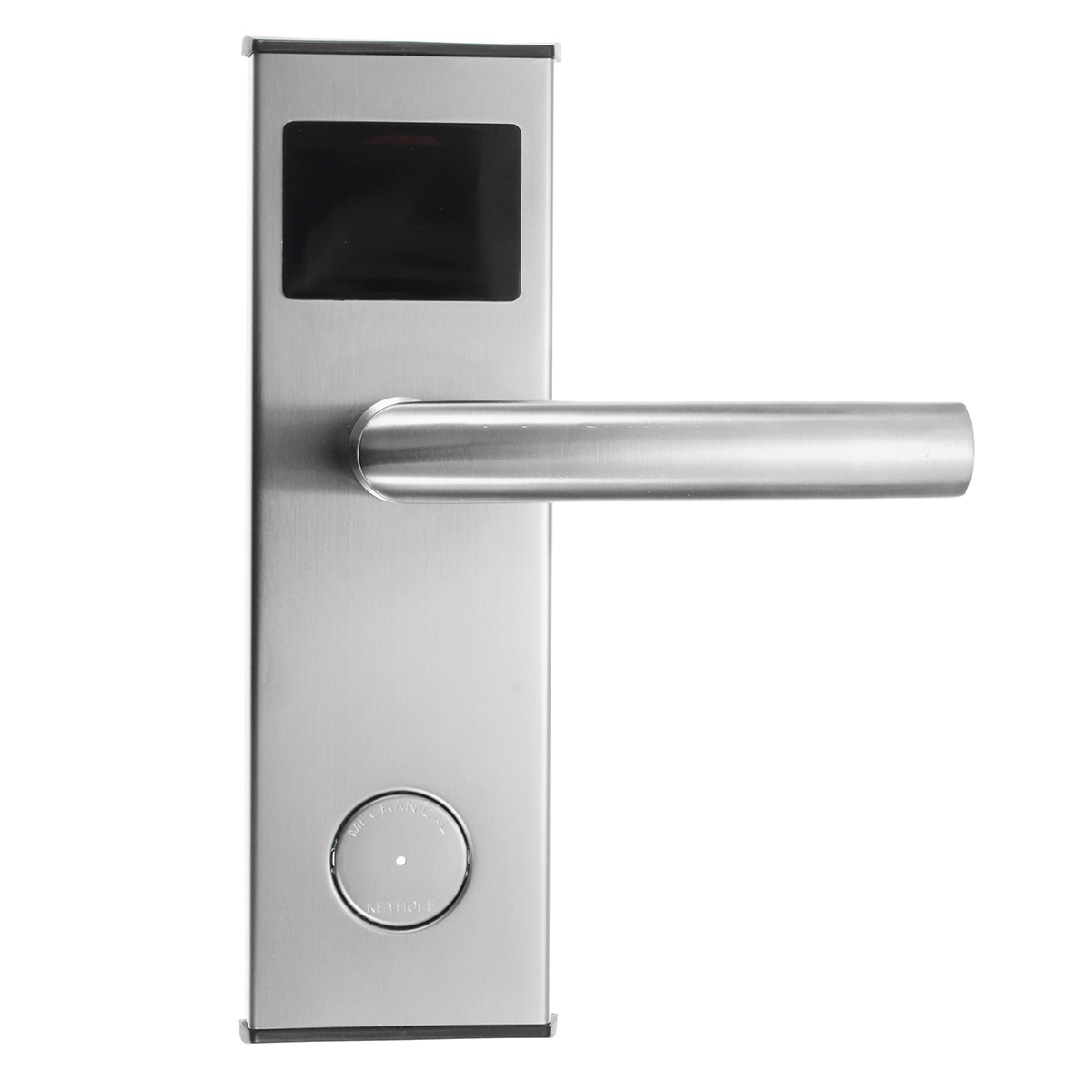 Parts Accessories Stainless Steel Intelligent Rfid Lock Digital Gold Keypad Door Keyless Electronic Card Key Hotel System Color Silver
