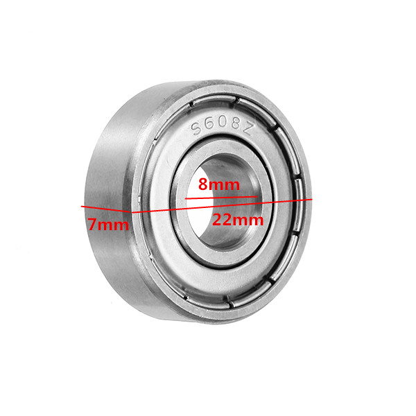 8x22x7mm 608Z Stainless Steel Ball Bearing for Hand Fidget Spinner