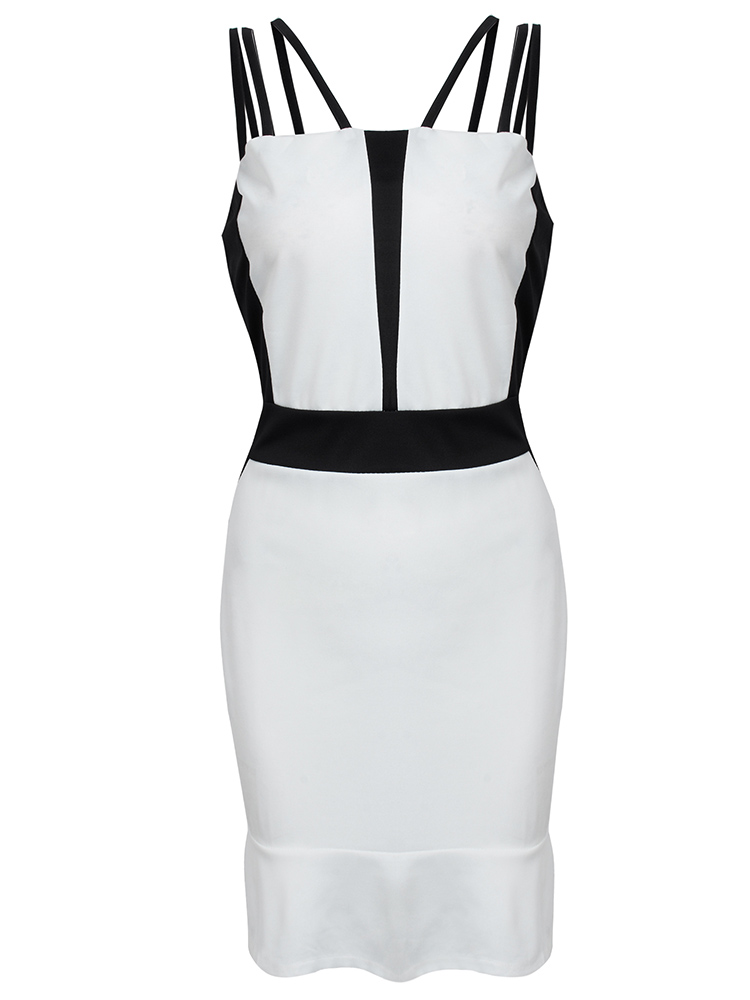 Strap Backless Party Dress