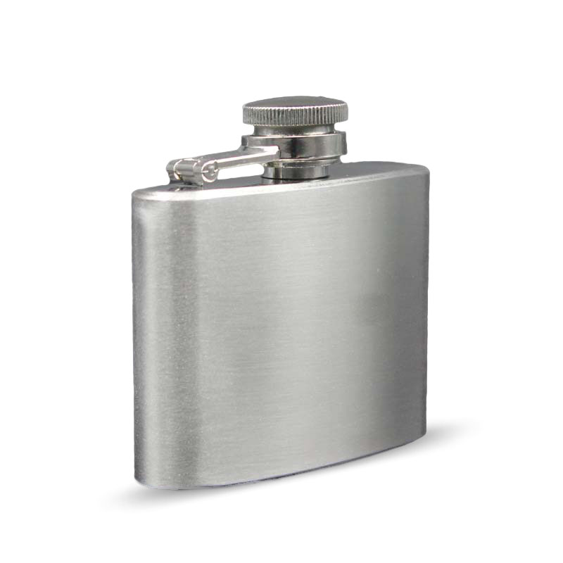 2oz Stainless Steel Pocket Flask Russian Hip Flask Male Small Portable Mini Shot Bottles Whiskey Jug Small Gifts For Man