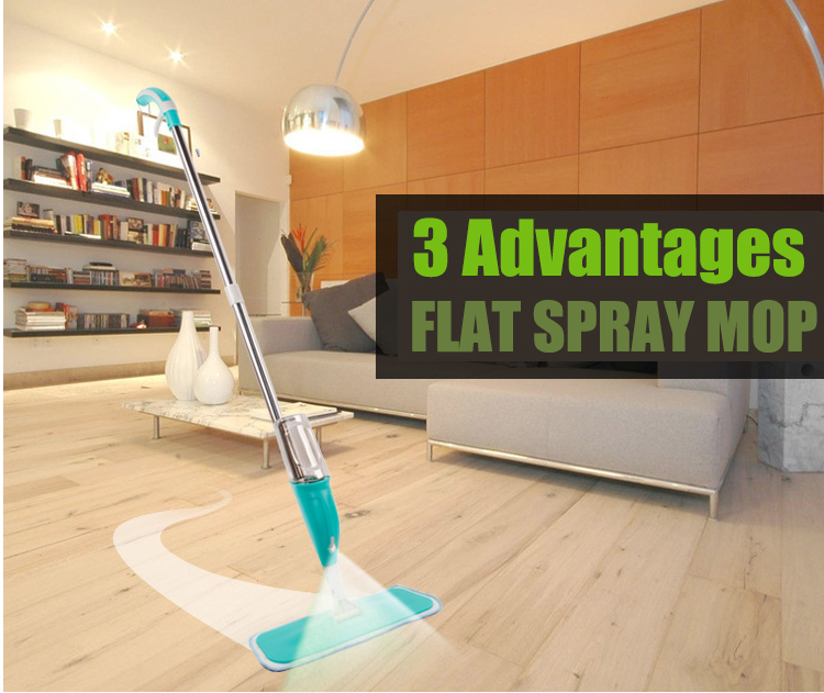 Multifunction Spray Mop Home Used Microfiber Cloth Household Floor Cleaning Tools