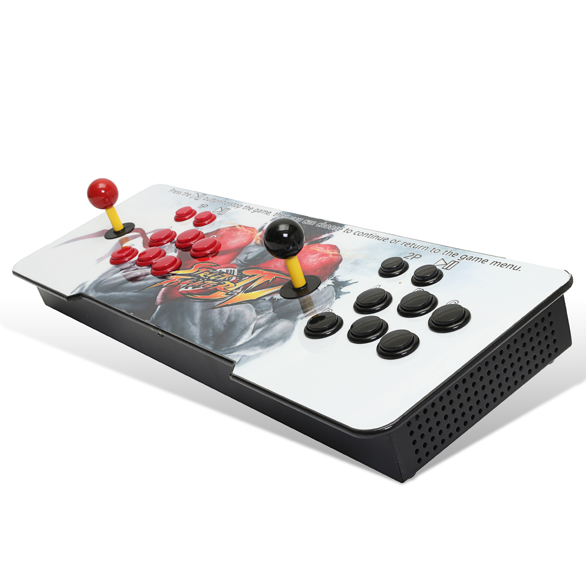 PandoraBox 5S Plus 999 in 1 Dual Player Double Joystick Arcade Game Console with Push Button