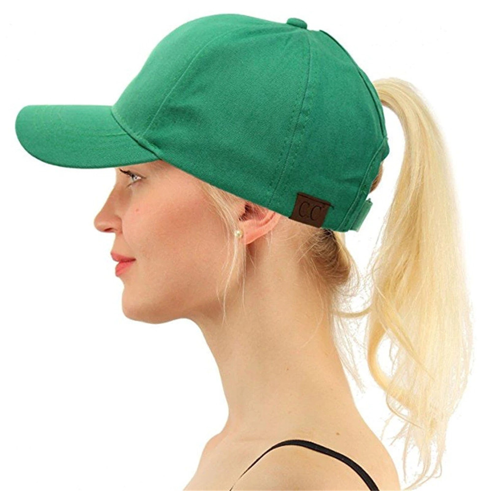 Men Women Adjustable Washed Denim Baseball Cap