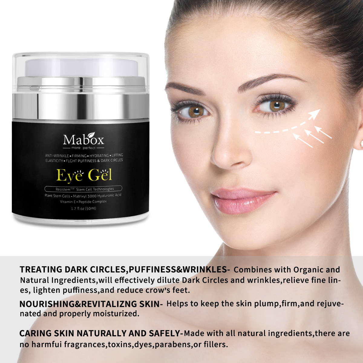 Mabox Eye Gel Cream Remove Dark Circle Lighten
