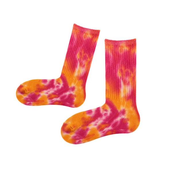 Women Colorful Cotton Long Tube Socks Casual Thick Warm Printing Socks