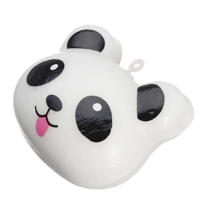 Squishy Panda Bun 5cm Soft Phone Bag Charm Strap Collection Gift Decor Toy