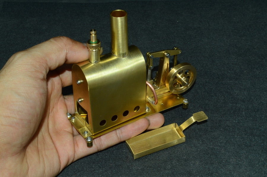 Microcosm Mini Steam Boiler Steam Engine Model Gift Collection DIY Stirling Engine
