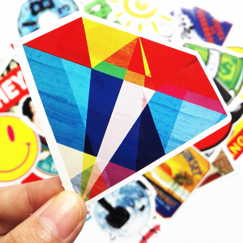 50pcs Cartoon Car Sticker Combination for Auto Truck Vehicle Motorcycle Decal