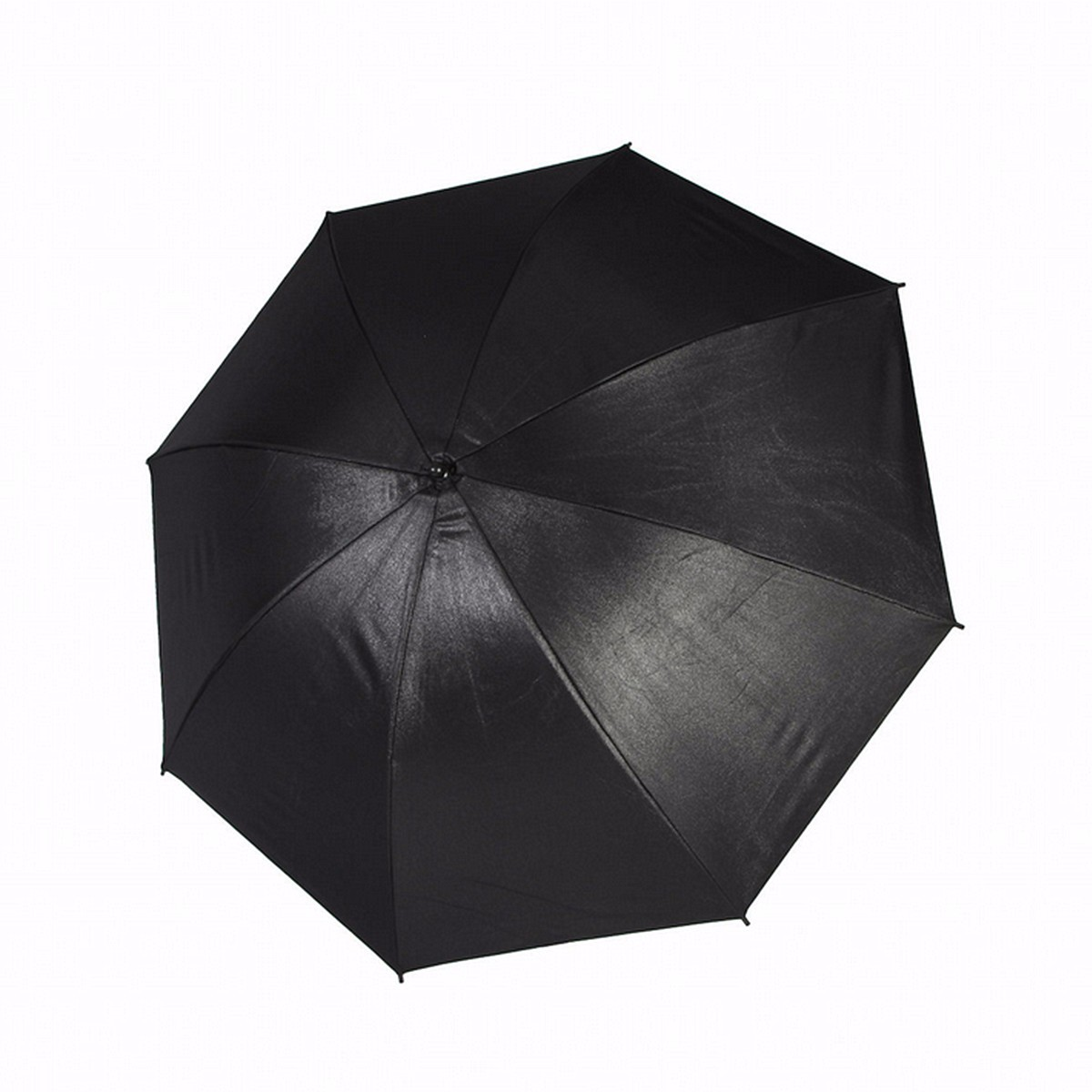 Reflective Umbrella Softbox: 110cm 43 Inch Black Silver Reflective Umbrella Reflector