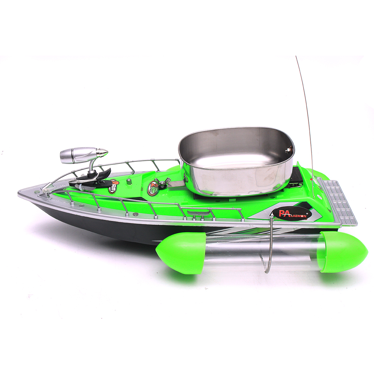 ZANLURE 80M-300M Mini Remote Control RC Wireless Boat Fishing Lure Bait Boat For Fish Finder Fishing Boat