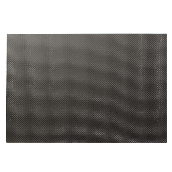 Suleve™ CF20301 3K 200×300×1mm Plain Weave Carbon Fiber Plate Panel Sheet Aircraft Model Building