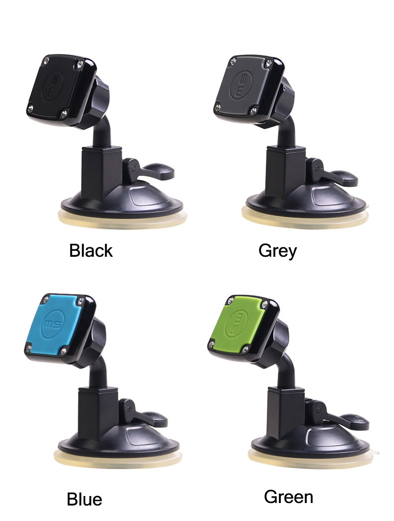 Bakeey™ Universal Magnetic Car Mount Dashboard Sucker Holder Stand for iPhone Samsung Xiaomi
