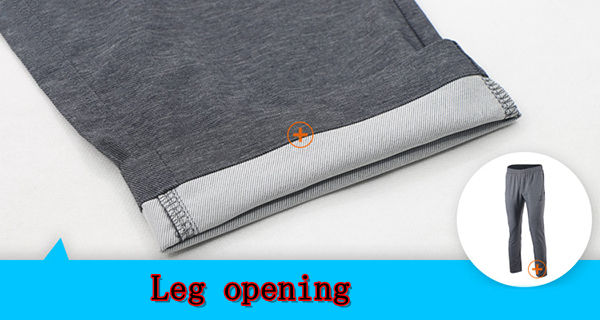 Spring Autumn Mens Close Leg Sports Pants Quick Dry Breathable Slim Fit Casual Trousers
