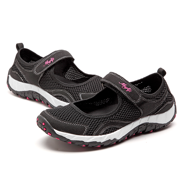 Women Light Heathly Breathable Mesh Soft Sole Casual Outdoor Sport Shoes