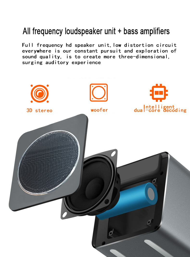 Musky Dy38 Bluetooth Audio Mirror Alarm Clock Wireless Circuit Amplifier Loudspeaker Overload Protector Shipping Methods