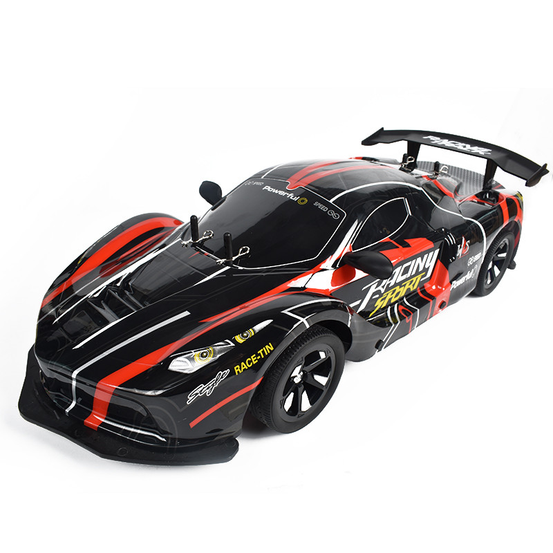 1:10 2.4G 4WD Drift Racing Car High Speed Off Road RC Car Lamplight 25KM/h For RC Vehicles Model Multi Batteries - Photo: 2