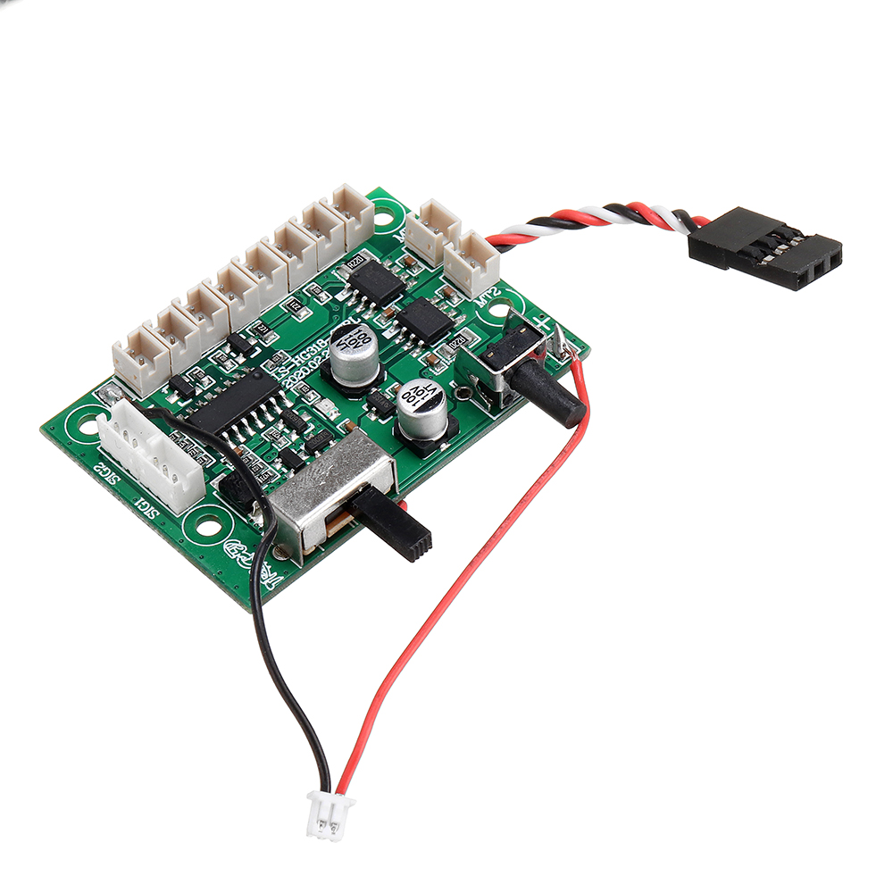 HG P806 TRASPED 1/12 Heavy RC Trailer Spare Main Control Circuit Board Panel TBA020 Car Vehicles Model Parts